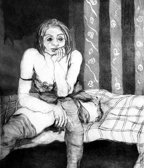 Giuliana Consilvio: Donna in sottoveste